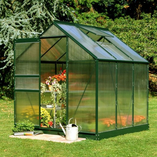 Build greenhouse